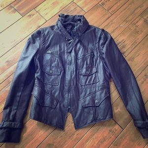 Kenneth Cole Reaction Faux leather Jacket in